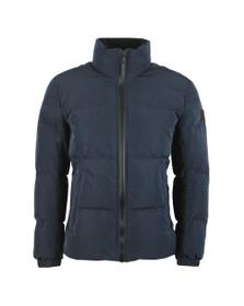 BOSS Mens Blue Casual Odrean Jacket