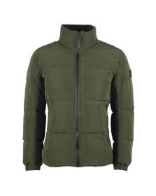BOSS Mens Green Casual Odrean Jacket