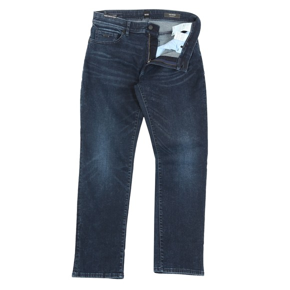 BOSS Mens Blue Casual Super Stretch Denim Jean main image