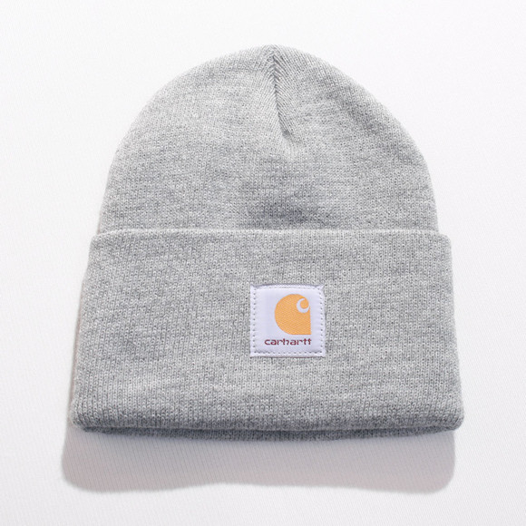Carhartt WIP Mens Grey Carhartt Grey Watch Hat