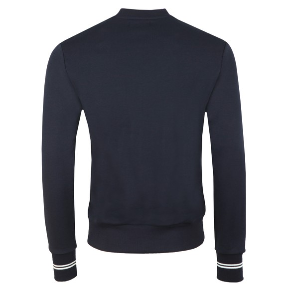 Fred Perry Mens Blue Crew Neck Sweat main image