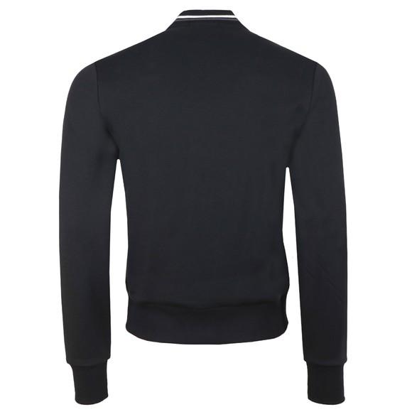 Fred Perry Mens Black Zip Through Sweatshirt  main image