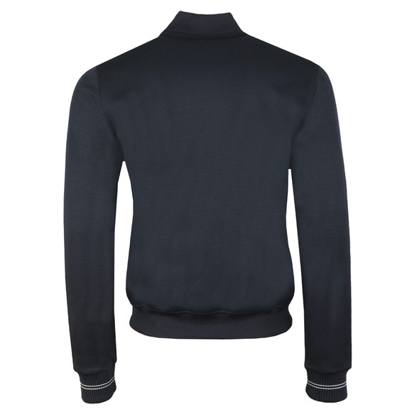 Fred Perry Mens Black Bomber Neck Track Jacket main image