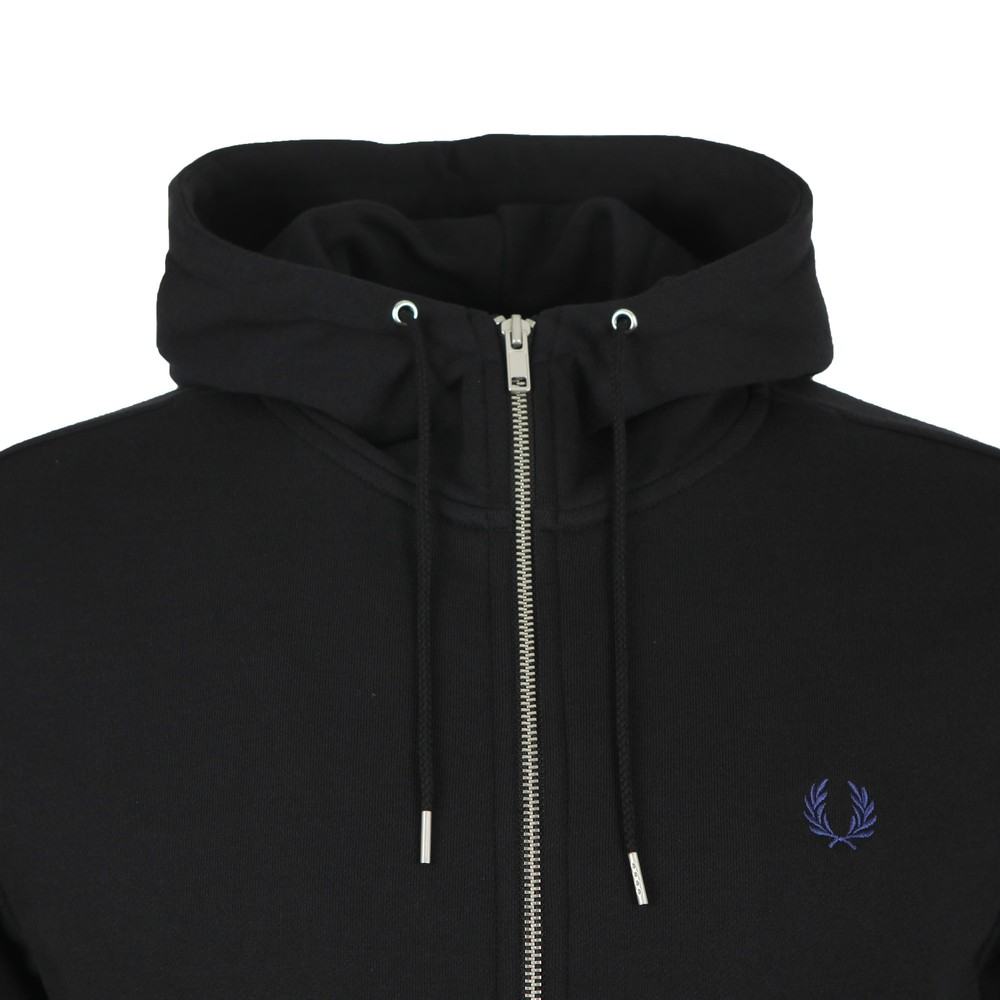 Hooded Zip Through Sweatshirt main image