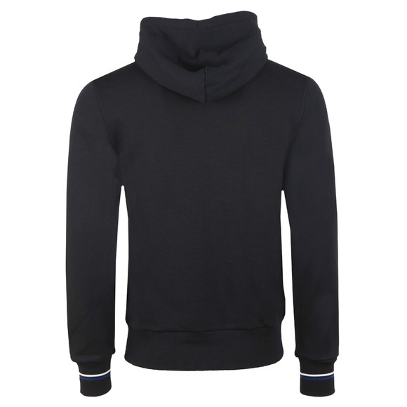 Fred Perry Mens Black Hooded Zip Through Sweatshirt main image