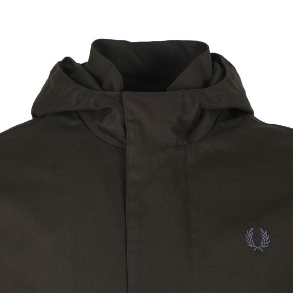 Fred Perry Mens Black Parka main image