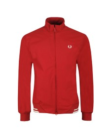 Fred Perry Mens Red The Brentham Jacket