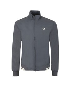 Fred Perry Mens Grey The Brentham Jacket