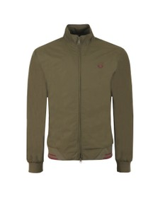 Fred Perry Mens Green The Brentham Jacket