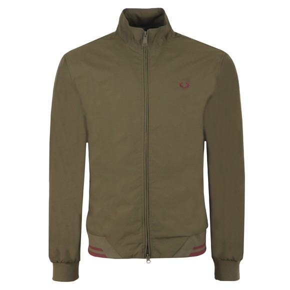 Fred Perry Mens Green The Brentham Jacket main image