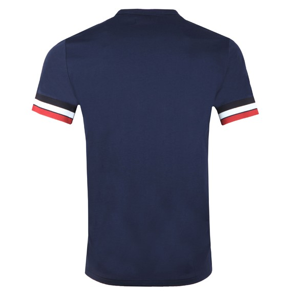 Fred Perry Mens Blue Bold Tipped T-Shirt main image
