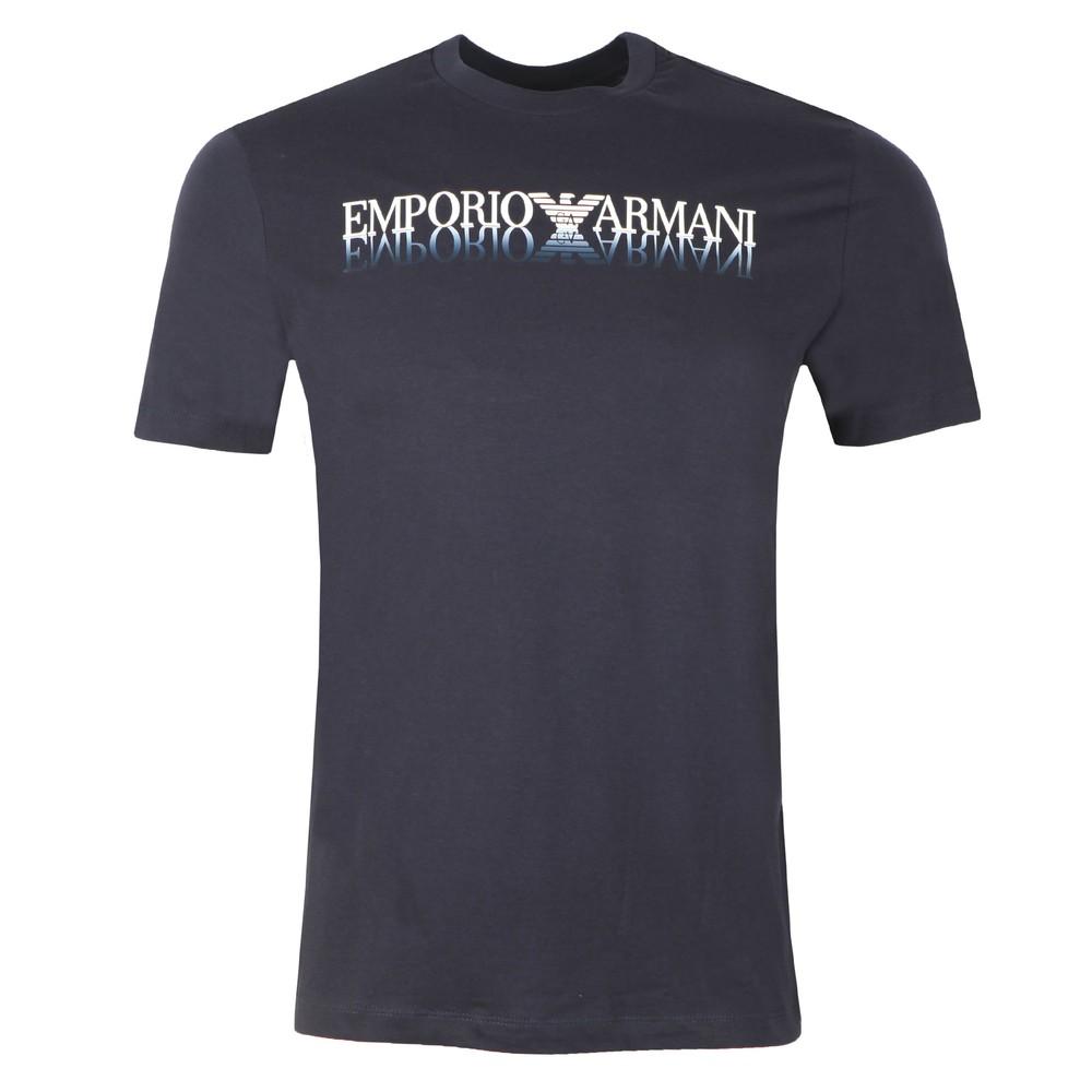 Mirrored Logo T Shirt