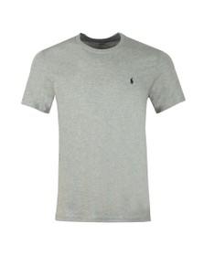 Polo Ralph Lauren Mens Grey Crew Neck Sleep T Shirt