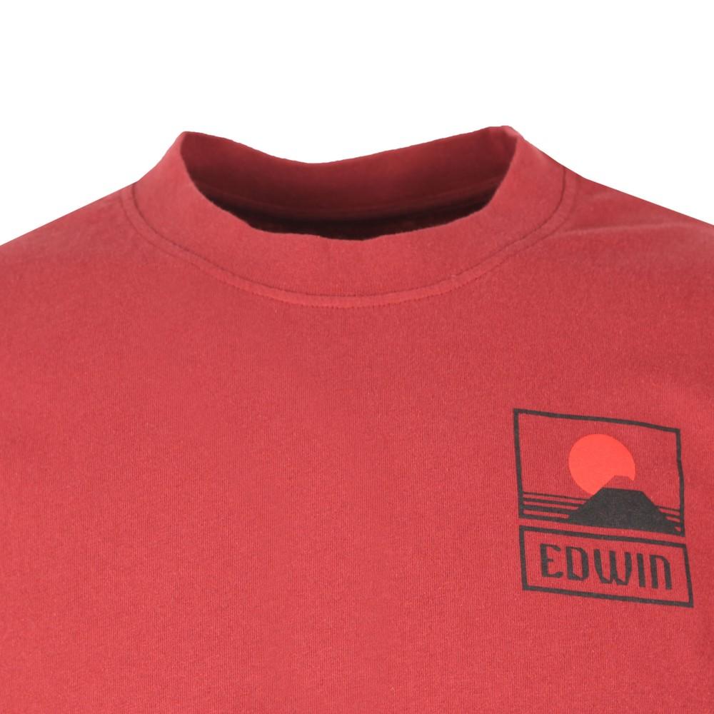 Sunset On Mount Fiji T Shirt main image