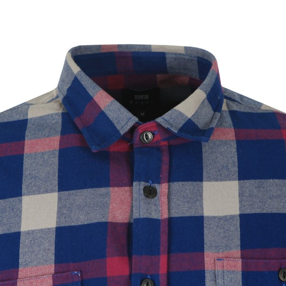 Edwin Mens Blue Labour Shirt main image
