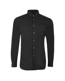 Lacoste Mens Black CH9623 Plain Shirt