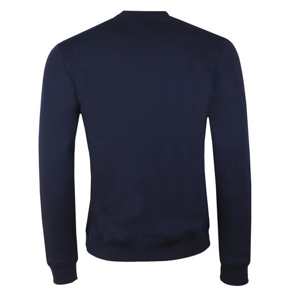 Lacoste Mens Blue SH8552 Print Sweatshirt main image