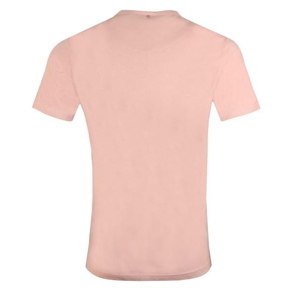 Pretty Green Mens Pink Basic T-Shirt main image