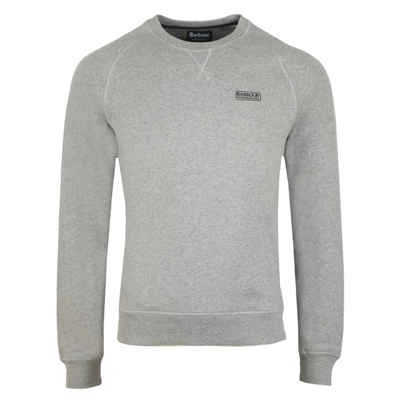 Barbour International Mens Grey Essential Crew Sweat main image
