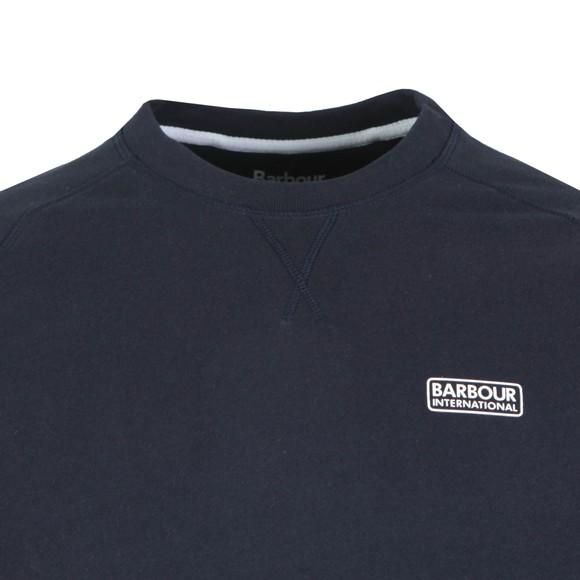 Barbour International Mens Blue Essential Crew Sweat main image