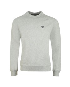 Barbour Beacon Mens Grey Crew Sweatshirt