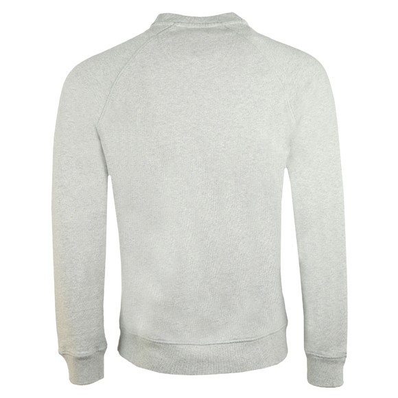 Barbour Beacon Mens Grey Crew Sweatshirt main image