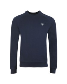 Barbour Beacon Mens Blue Crew Sweatshirt