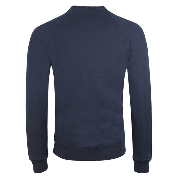 Barbour Beacon Mens Blue Crew Sweatshirt main image
