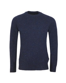 Barbour Lifestyle Mens Blue NethertonCrew Jumper