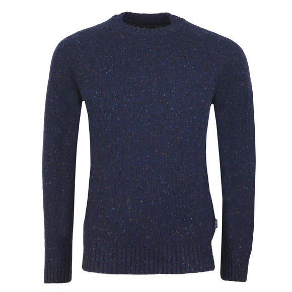 Barbour Lifestyle Mens Blue NethertonCrew Jumper main image