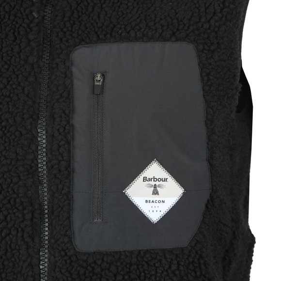 Barbour Beacon Mens Black Lagg Gilet main image