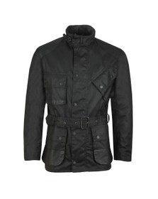 Barbour Icons Mens Black International Wax Jacket