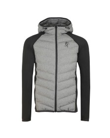 Gym King Mens Grey Bones Jacket