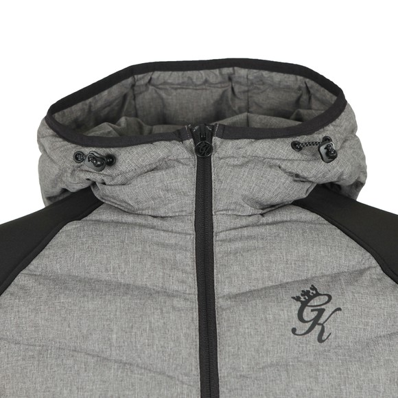 Gym King Mens Grey Bones Jacket main image