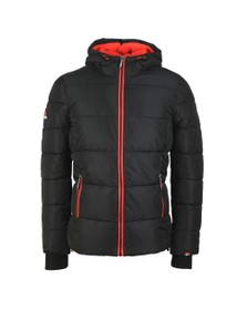 Superdry Mens Black Sports Puffer Jacket