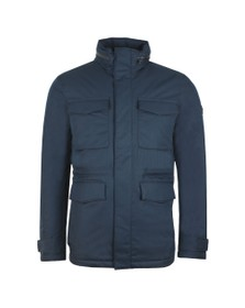 J.Lindeberg Mens Blue Tracer Tech Jacket