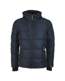 Superdry Mens Blue Sports Puffer Jacket