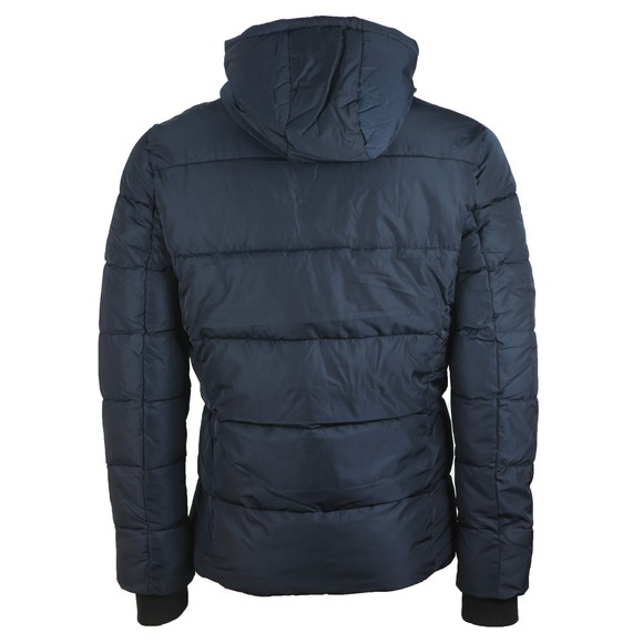 Superdry Mens Blue Sports Puffer Jacket main image