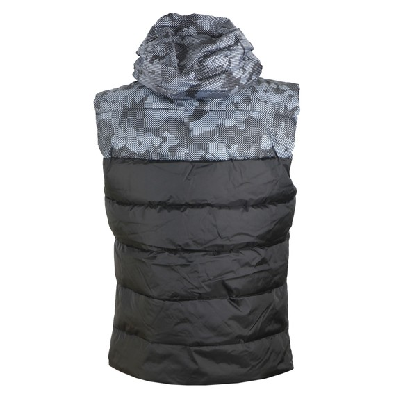 Superdry Mens Black Digitize Reflective Gilet main image