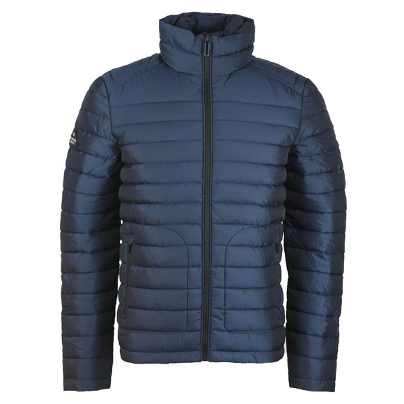 Superdry Mens Blue Double Zip Fuji Jacket main image