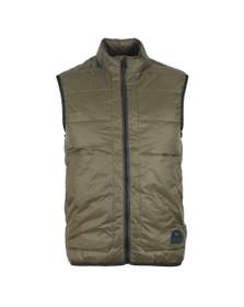 PS Paul Smith Mens Green Padded Gilet