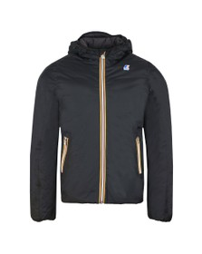 K-Way Mens Black Jacques Thermo Plus Jacket