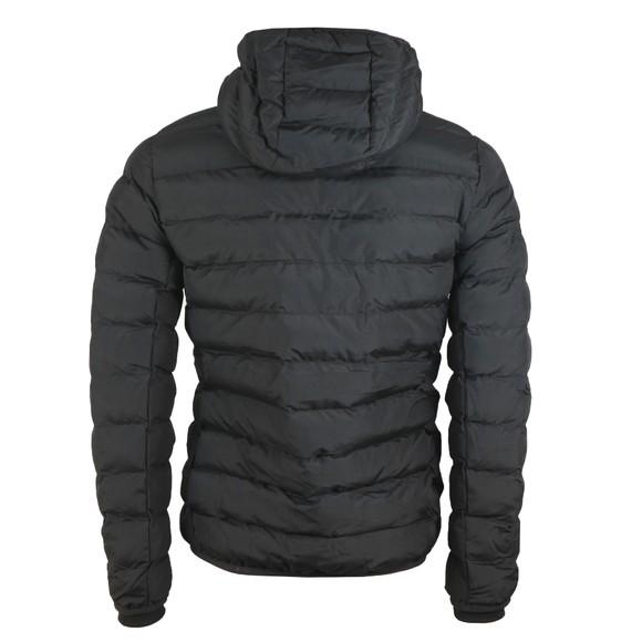 Gym King Mens Black Core Puffa Hooded Jacket main image