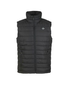 Superdry Mens Black Double Zip Fuji Gilet