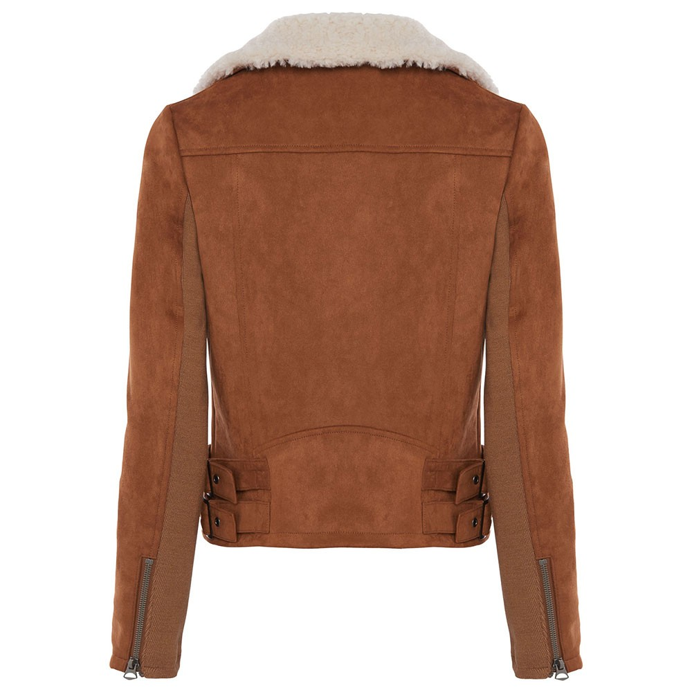 Amaranta Shearling Suedette Jacket main image