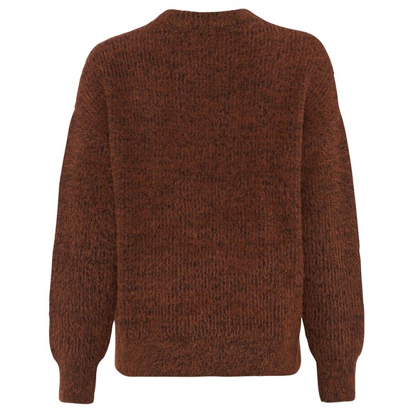French Connection Womens Brown Rufina Knits Crew Jumper main image