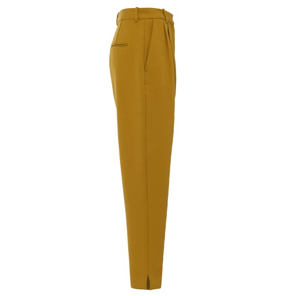 French Connection Womens Yellow Alido Sundae Suiting Trouser main image