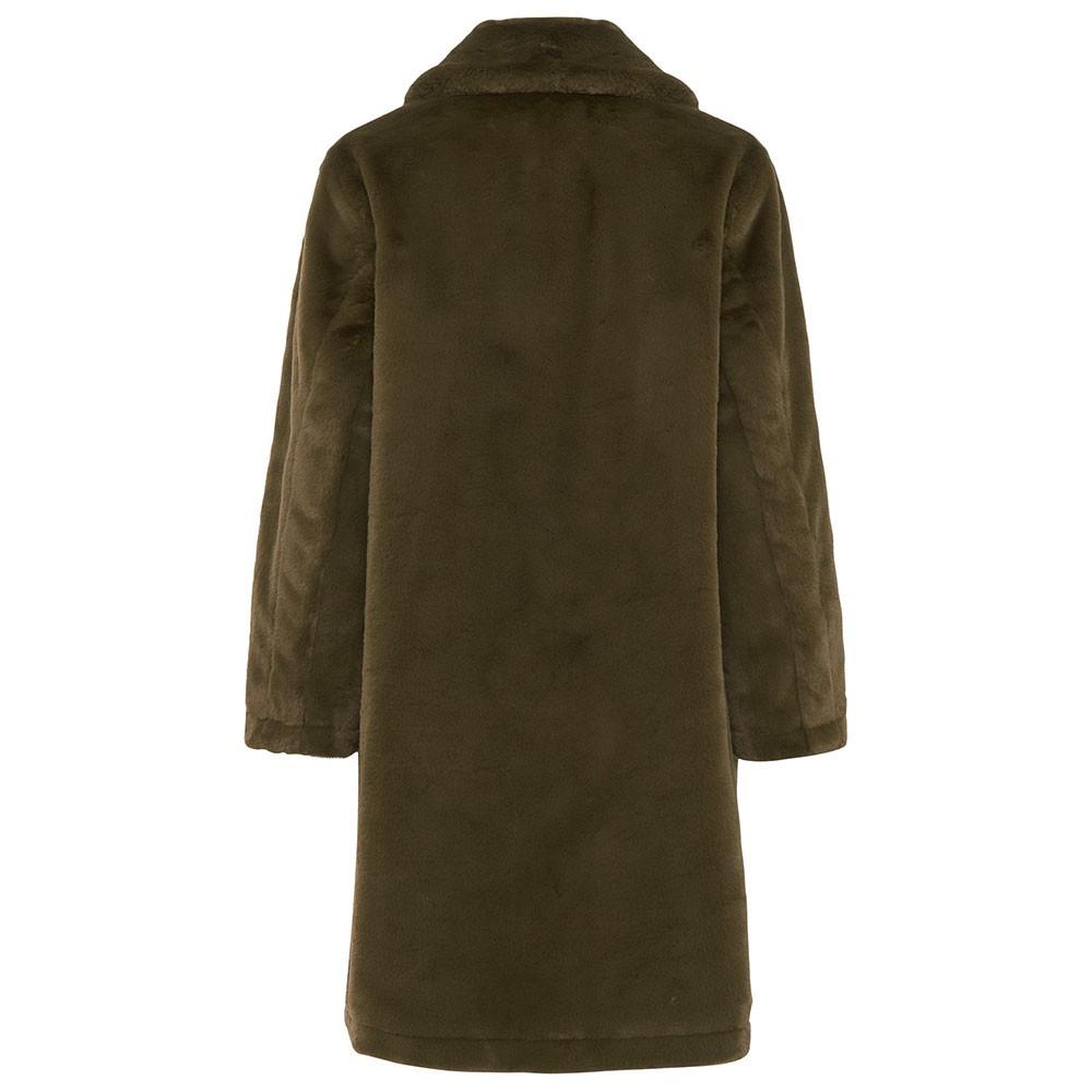 Buona Faux Fur Long Coat main image