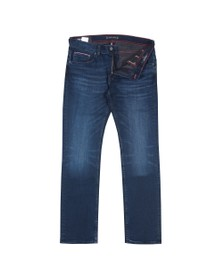 Tommy Hilfiger Mens Lecon Blue Denton Straight Jean