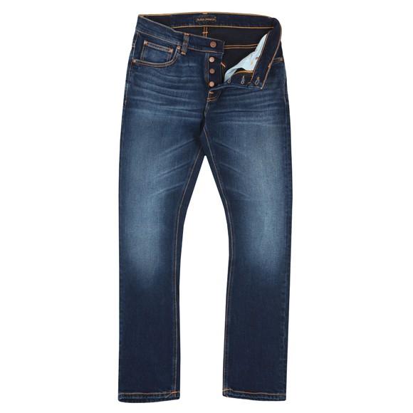 Nudie Jeans Mens Ink Navy Grim Tim Jeans main image
